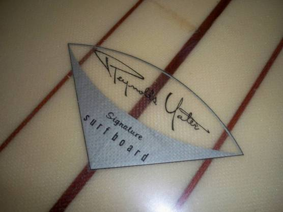 Vintage Yater Logo Signature Surfboard