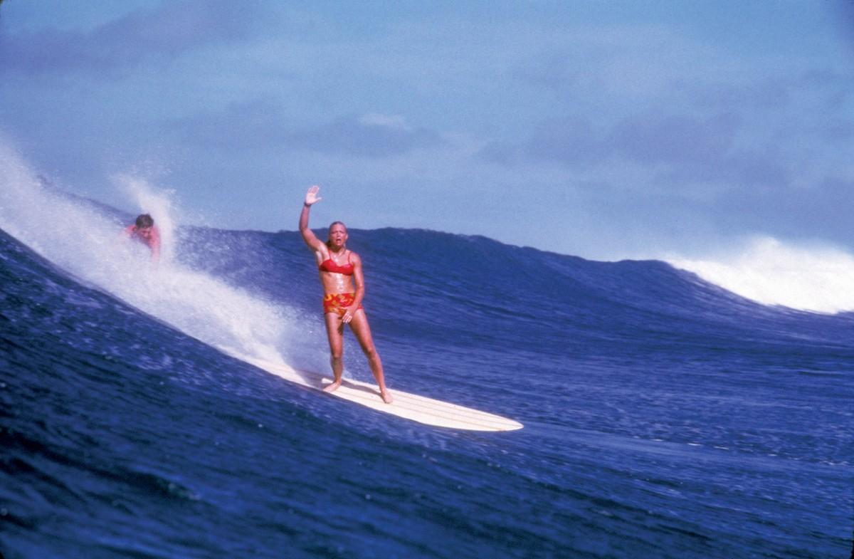 Joyce Hoffman Model for Hobie Surfboards