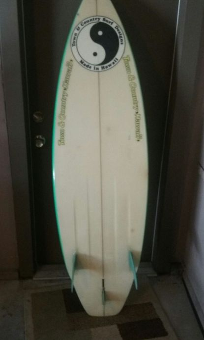 T&C Thruster Martin Potter Airbrush 5'11 6