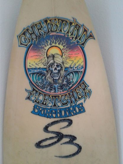 Christian Fletcher Surfboards Steve Boysen Thruster 6'1 1