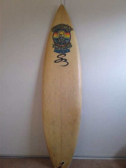 Christian Fletcher Surfboards Steve Boysen Thruster 6'1 2