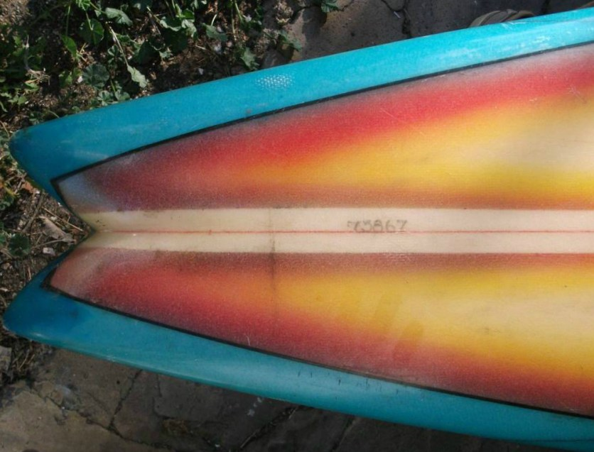 David Nuuhiwa Surfboards Dyno 1970s Single Fin 5
