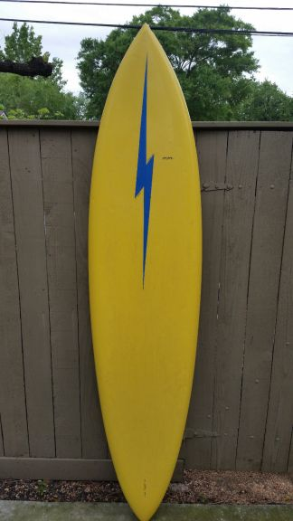 Gerry Lopez Lightning Bolt Single Fin 1976 8