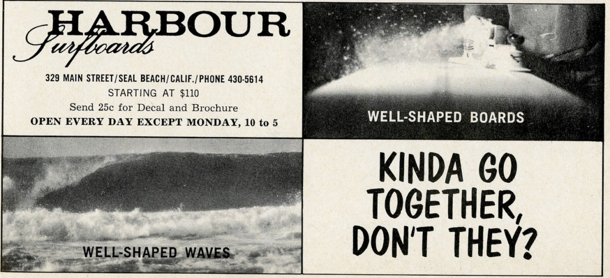 Vintage Harbour Surfboards Ad: Sagas of Shred