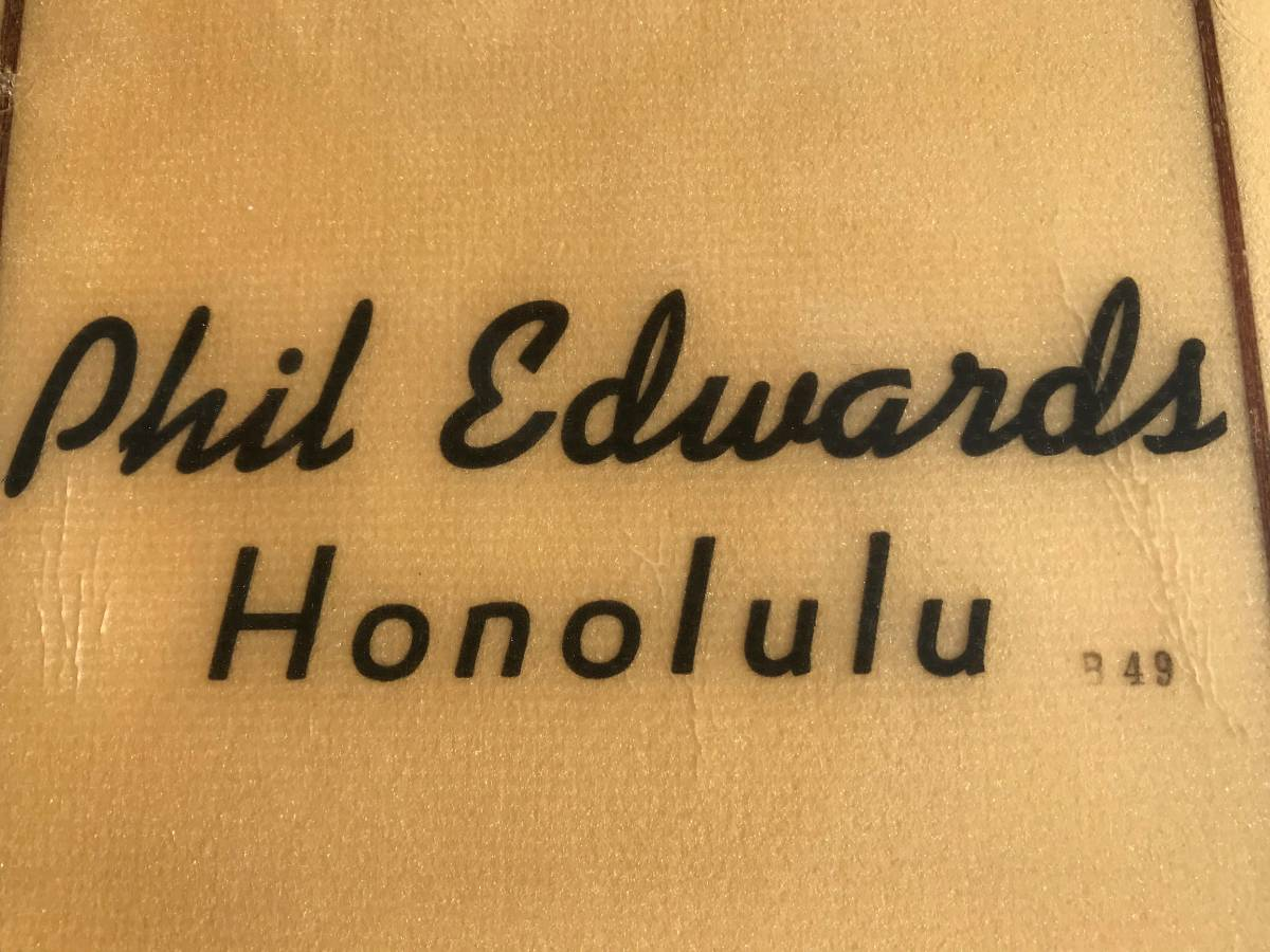 Phil Edwards Honolulu B 49