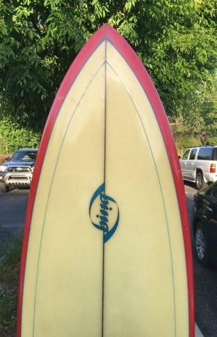 Bing Bonzer Surfboard Deck