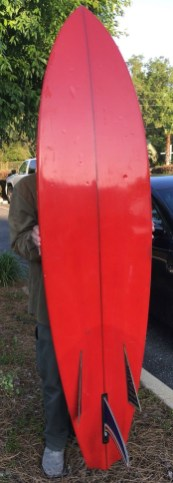 Bing Bonzer Surfboard Long