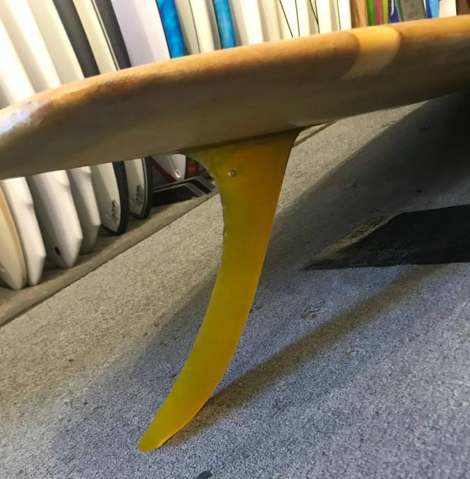 Transition Era Ole Surfboards Hull Fin