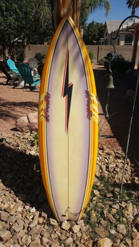 Lightning Bolt Rory Russell Single Fin 4