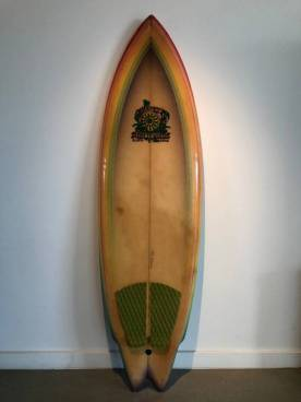 Country Surfboards Dan Flecky Twin Fin 3