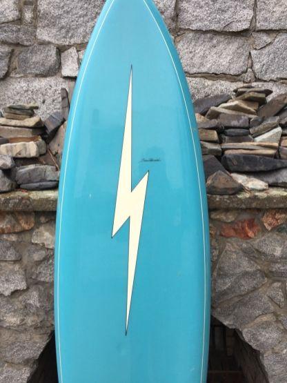 Lightning Bolt Tom Parrish Single Fin 1970s 6'8 13