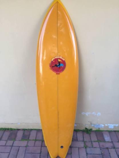 Owl Chapman Underground Surfboard Single Fin 1