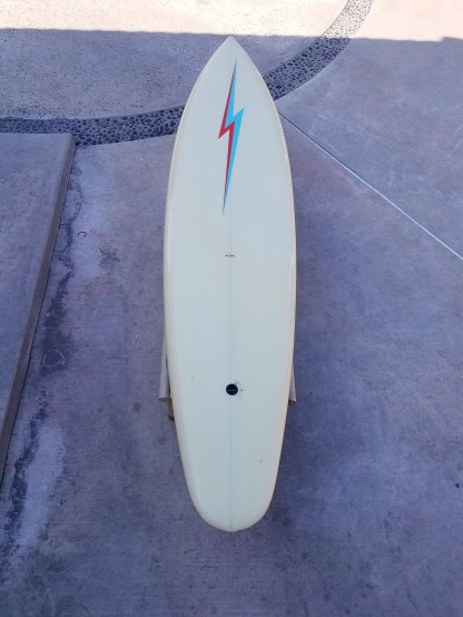 Seventies Lightning Bolt Single Fin Roy Stamm 2
