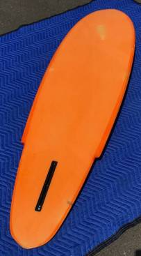 Vintage Infinity Surfboards Single Fin Bottom