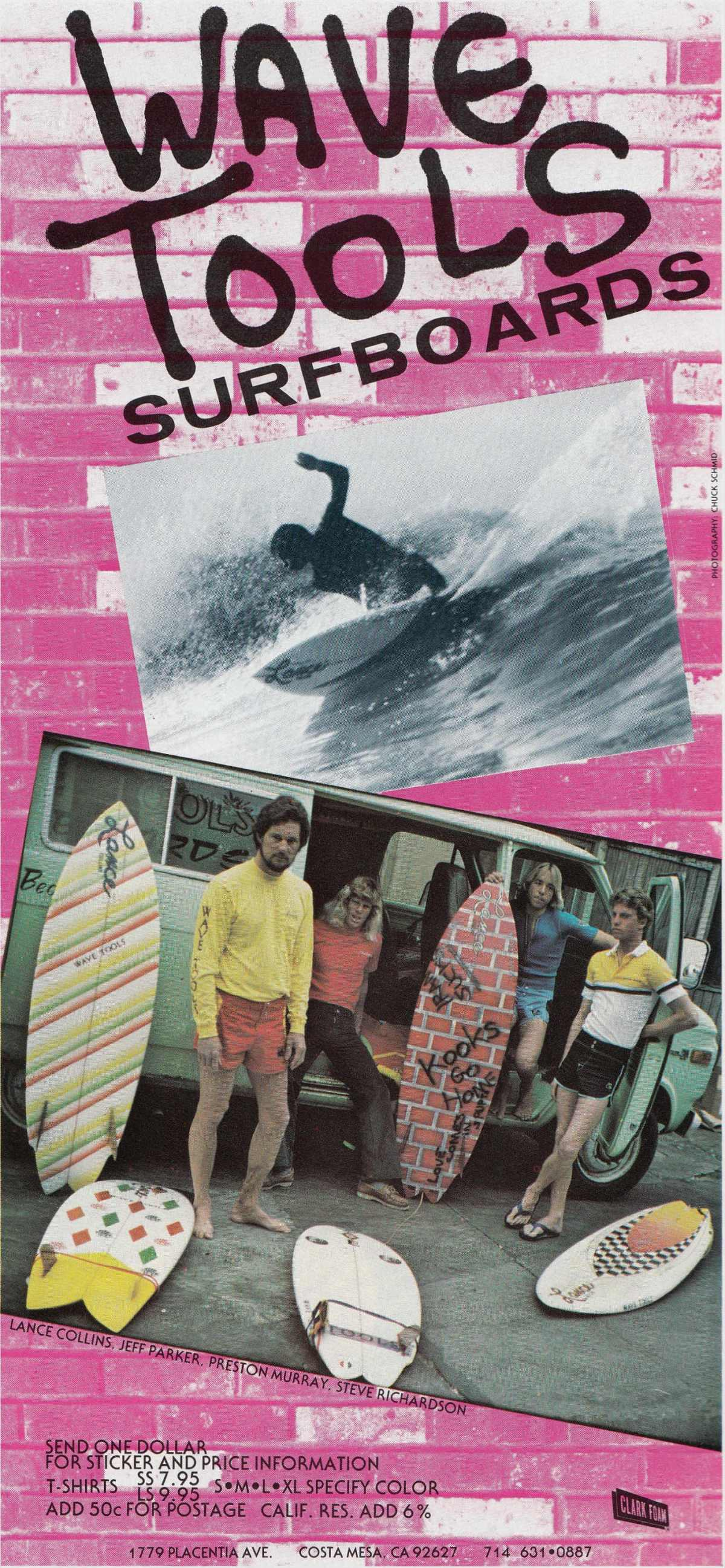 Vintage Wave Tools Surfboards Ad: Sagas of Shred