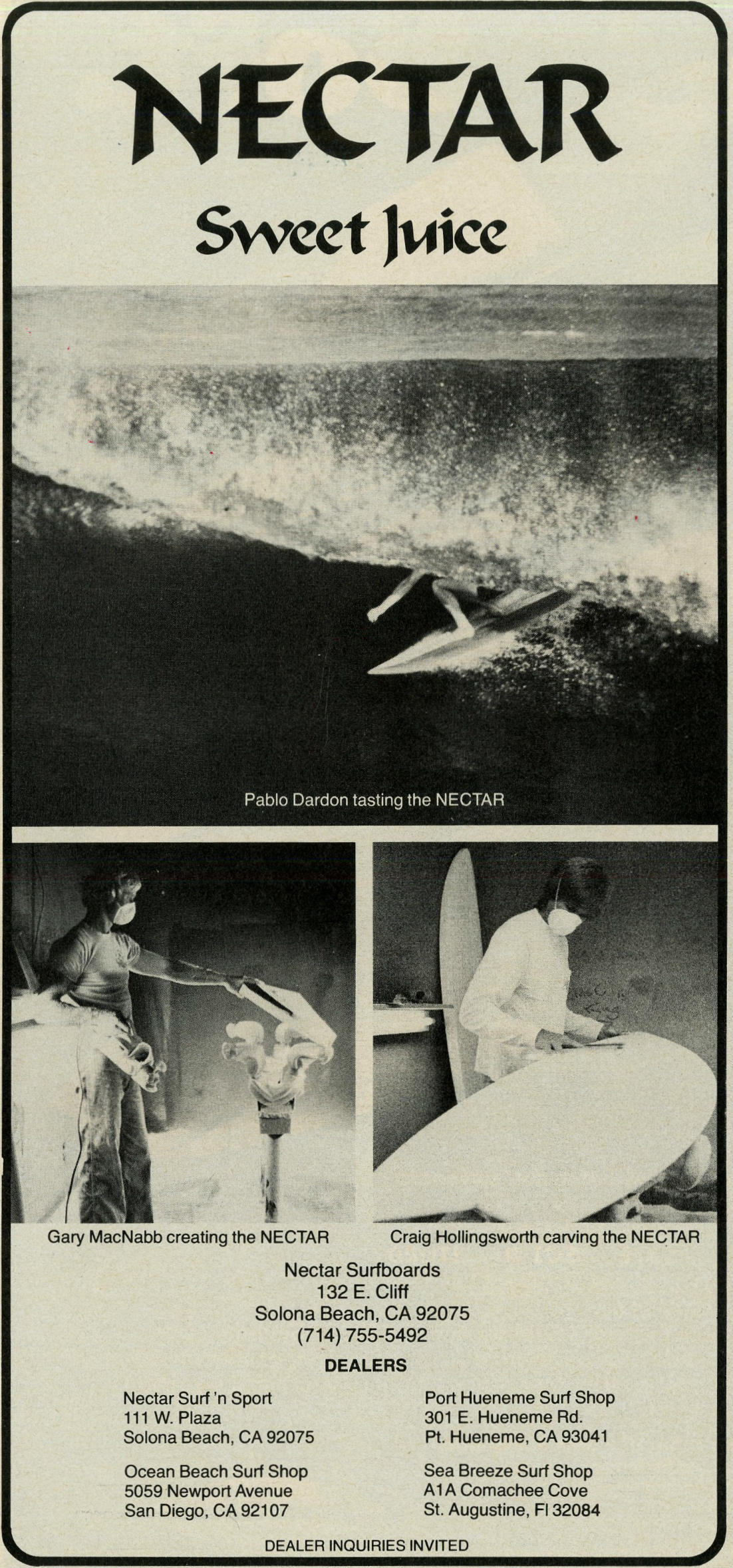 Sweet Juice via Nectar Surfboards: Sagas of Shred