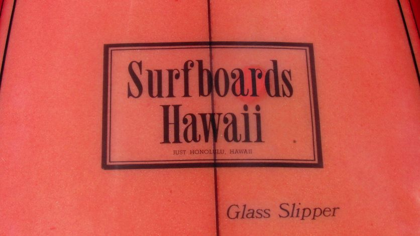 Surfboards Hawaii Glass Slipper Model 2
