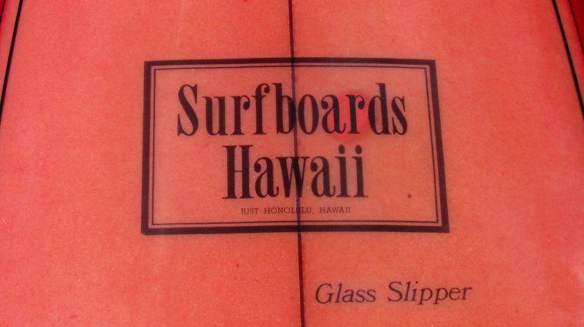 Surfboards Hawaii Glass Slipper Model 2