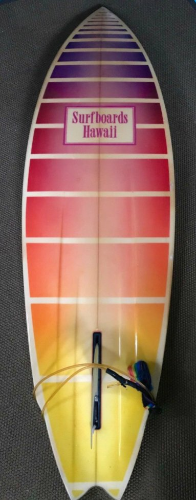 Surfboards Hawaii Mike Slingerland Single Fin 1