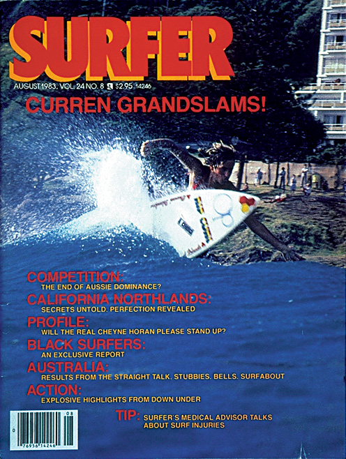 Surfer Magazine Cover August 1983 Vol 24 No 8.jpg