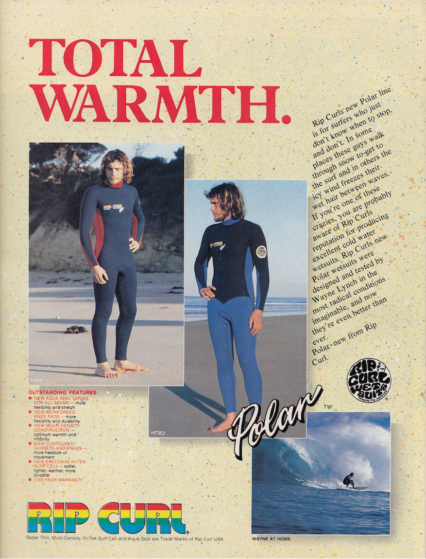 Wayne Lynch Rip Curl Ad: Sagas of Shred
