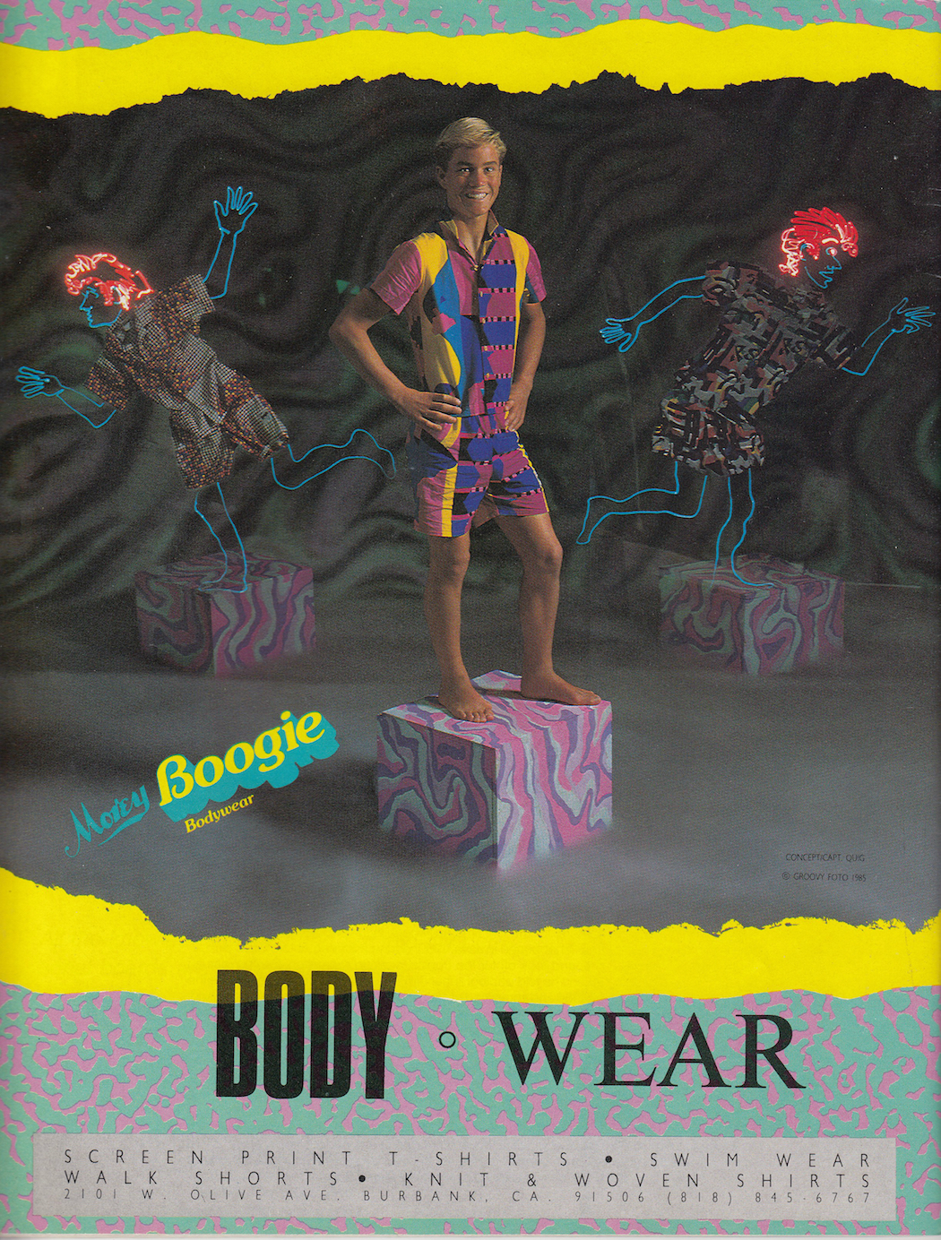 Eighties Morey Boogie Body Wear: Sagas of Shred