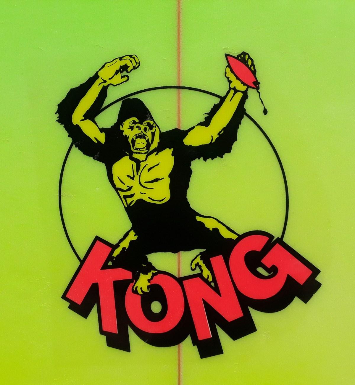 Hot Stuff Kong Gary Elkerton Board by Tom Eberly
