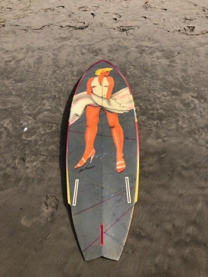 Tim Phares Surfboards Thruster 2