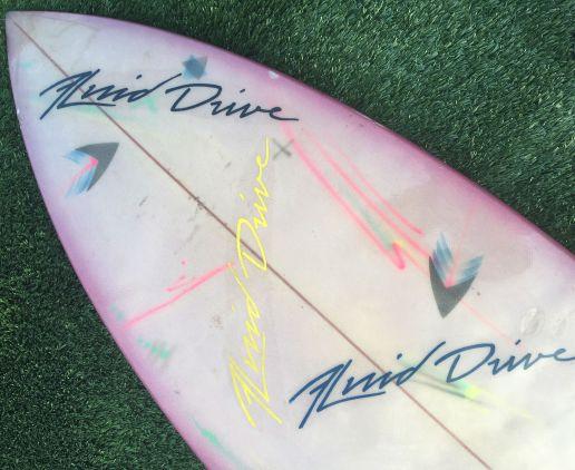 Tim Phares Surfboards Thruster Deck
