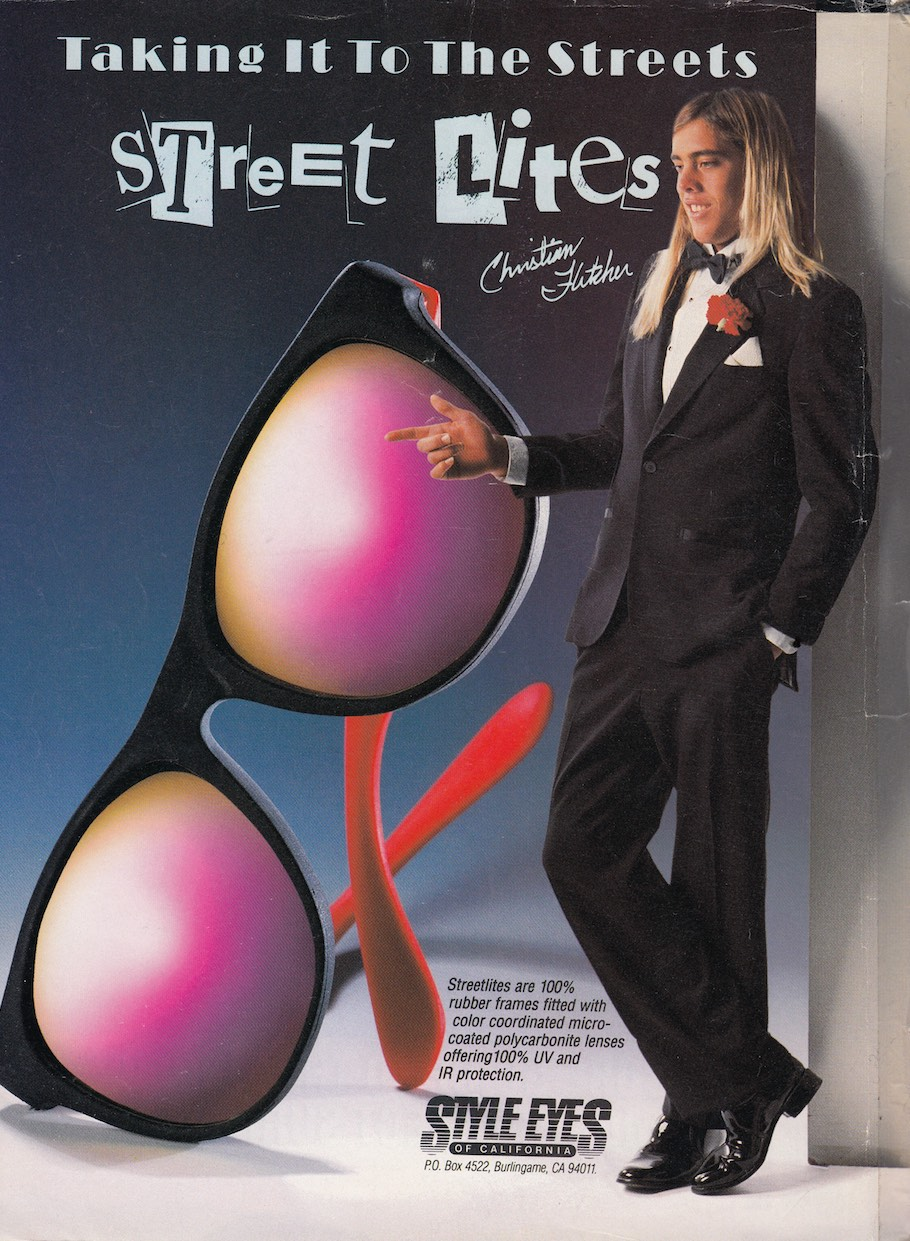 Christian Fletcher Style Eyes Ad: Sagas of Shred