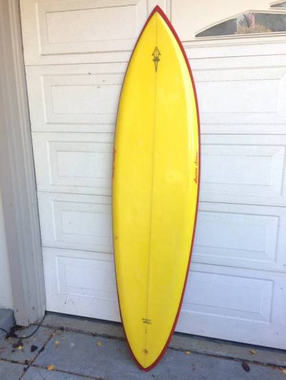 Pearson Arrow Seventies Single Fin 1