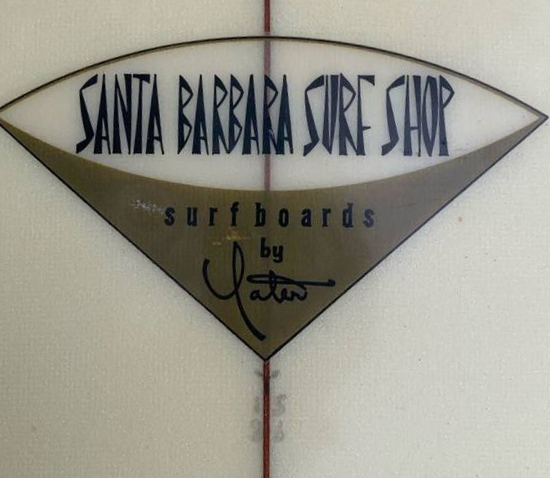 Vintage Yater Surfboard: Seventies Single Fin