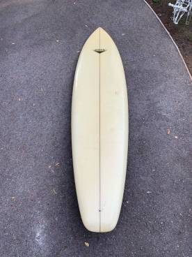 Vintage Yater Surfboard Seventies Single Fin 4