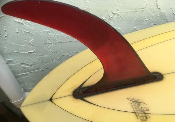 Clearlight Surfboards Jim Overlin Fin