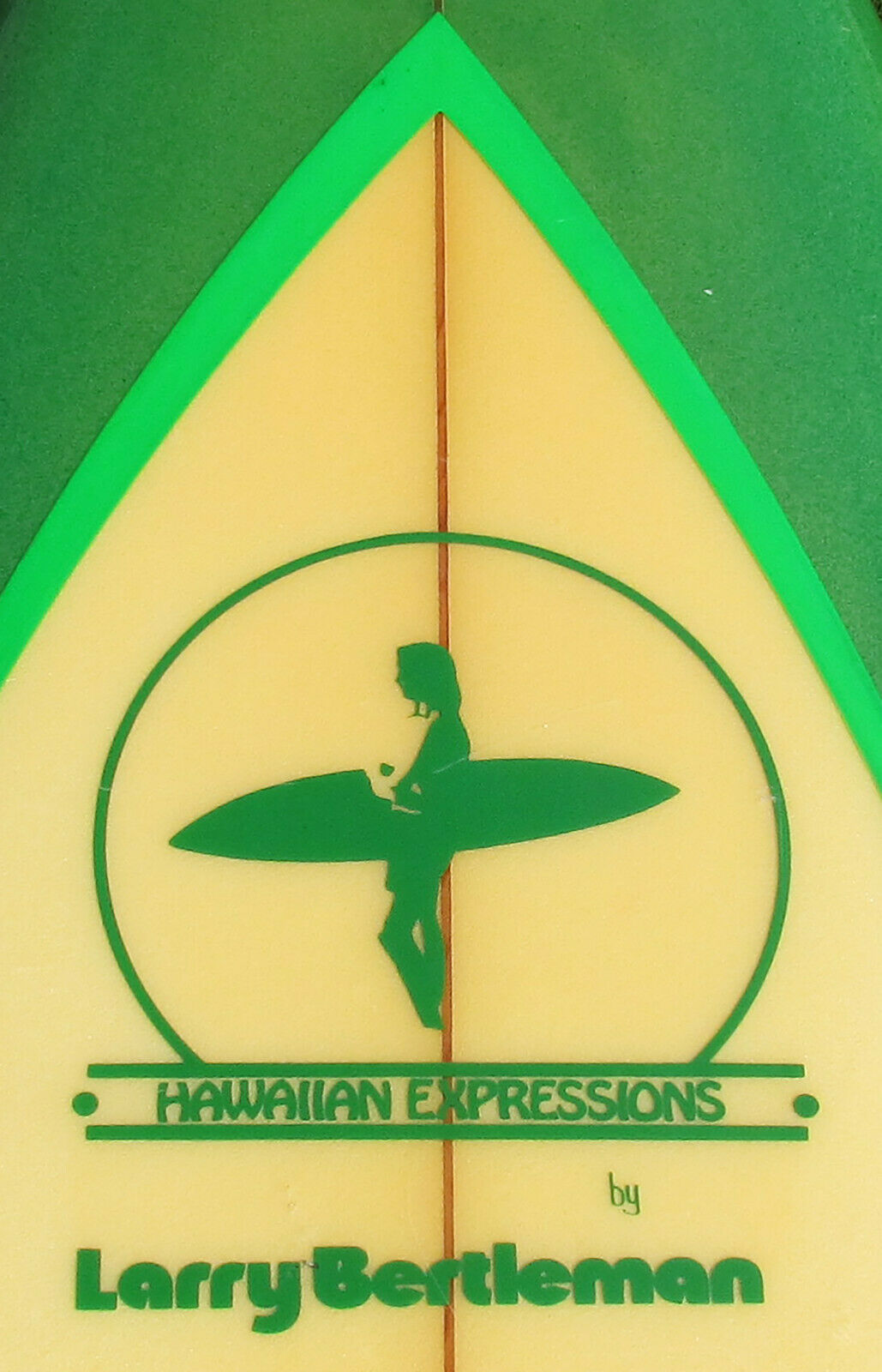Larry Bertlemann Hawaiian Expressions Surfboard