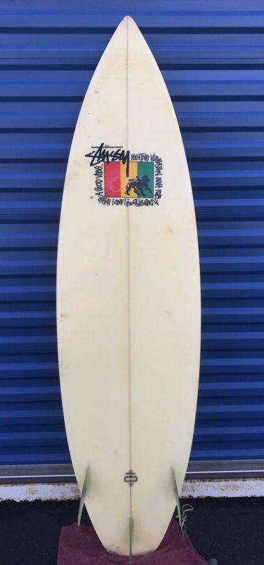 Stussy Surfboard Thruster 1980s 1