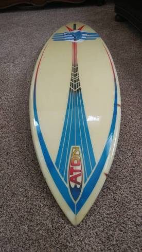 Mike Eaton Surfboards Single Fin 2