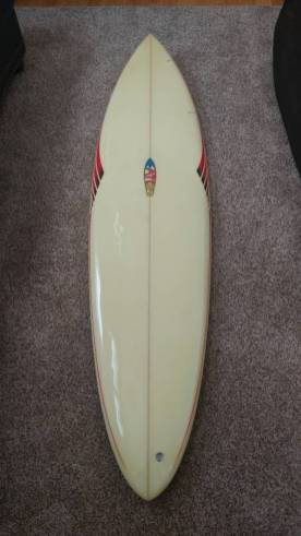 Mike Eaton Surfboards Single Fin
