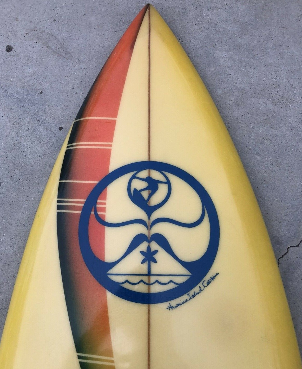 Vintage HIC Twin Fin by Cino Magallanes