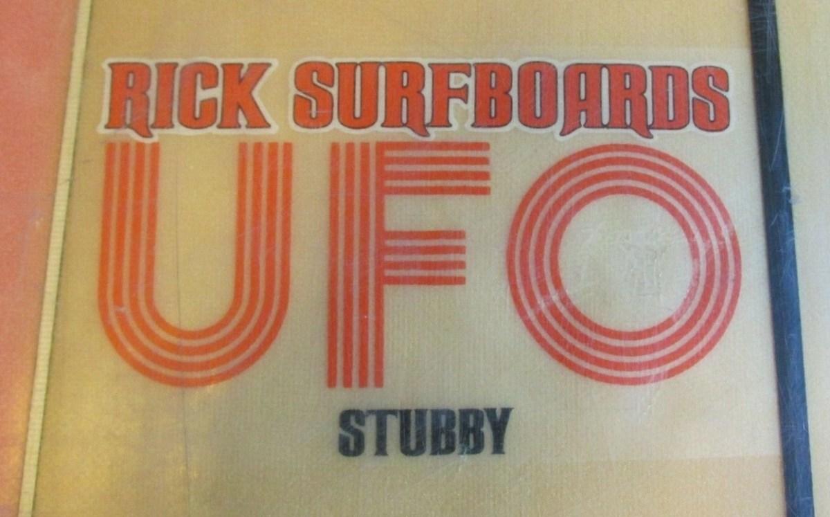 Weekend Grab Bag: Rick Surfboards UFO Stubby & More