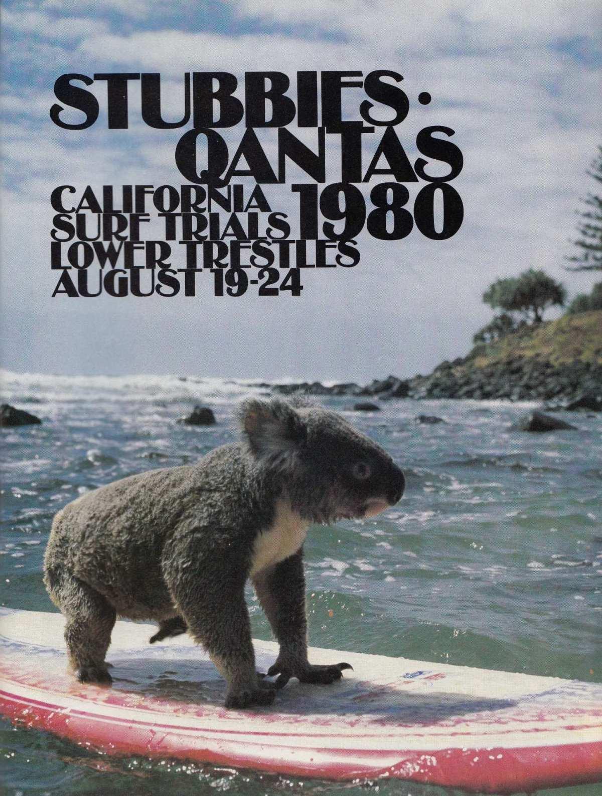 Qantas Stubbies California Surf Trials 1980