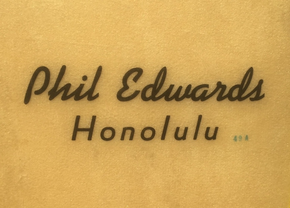 Phil Edwards Honolulu 49A