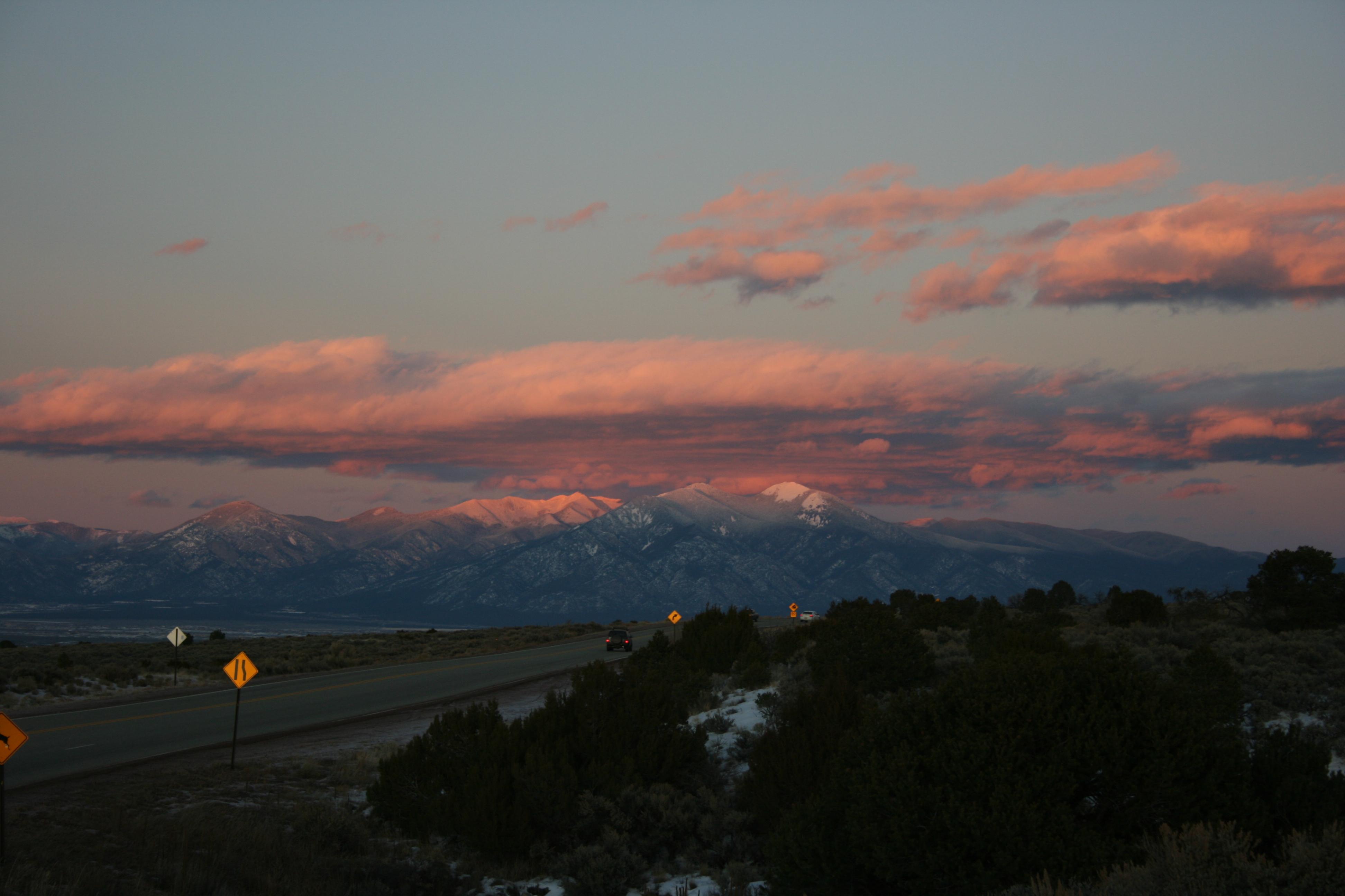 Low road to Taos. . .