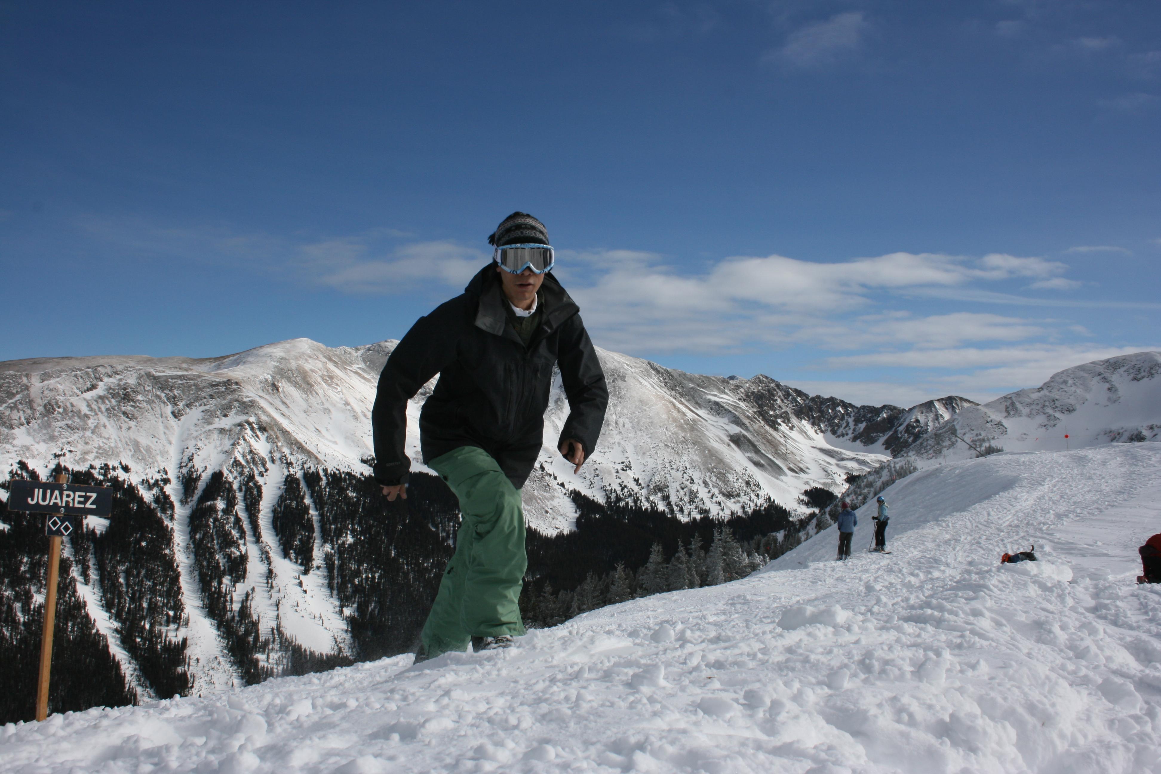 Feeling good at 12000 feet