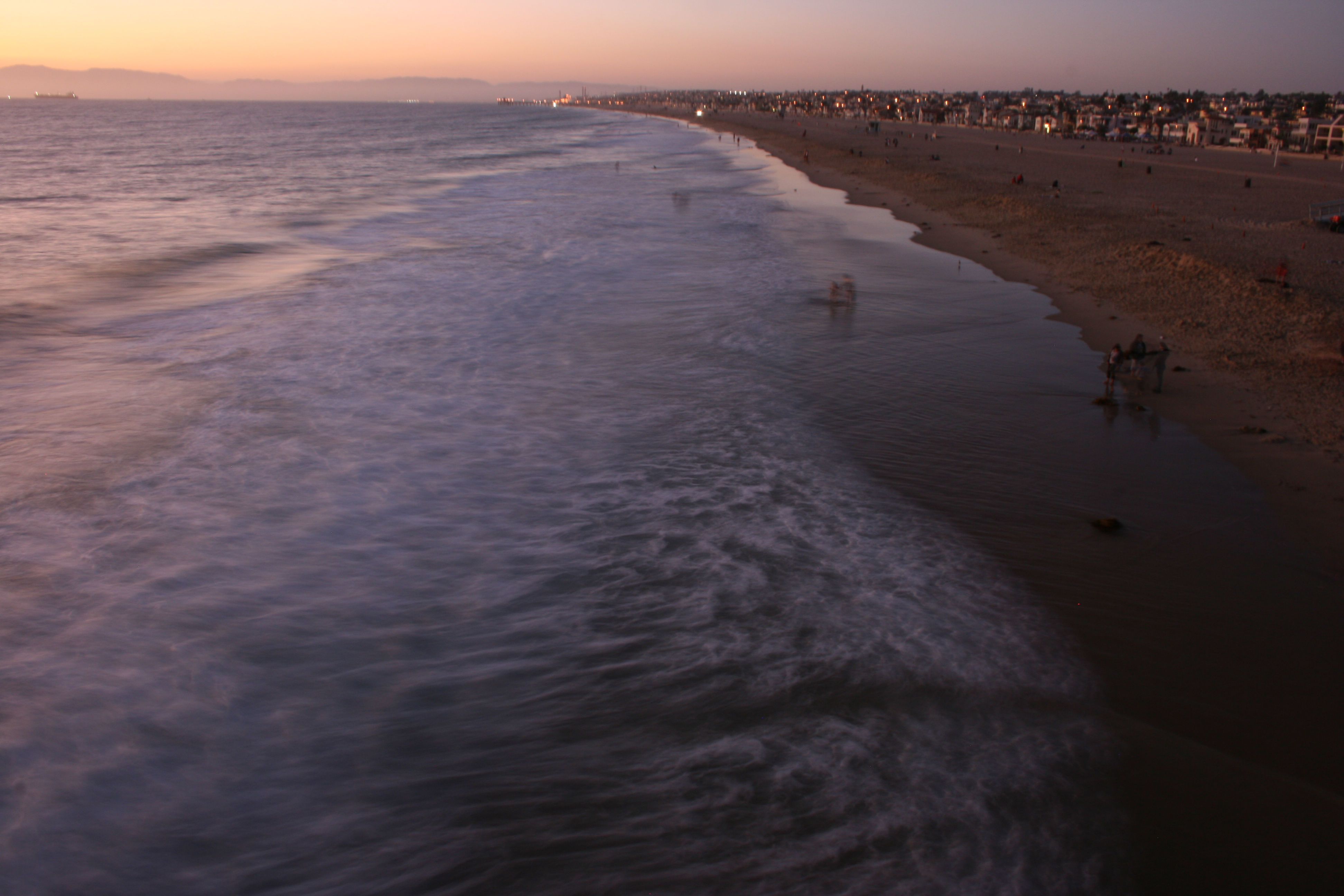 Sunset from the Hermosa pier
