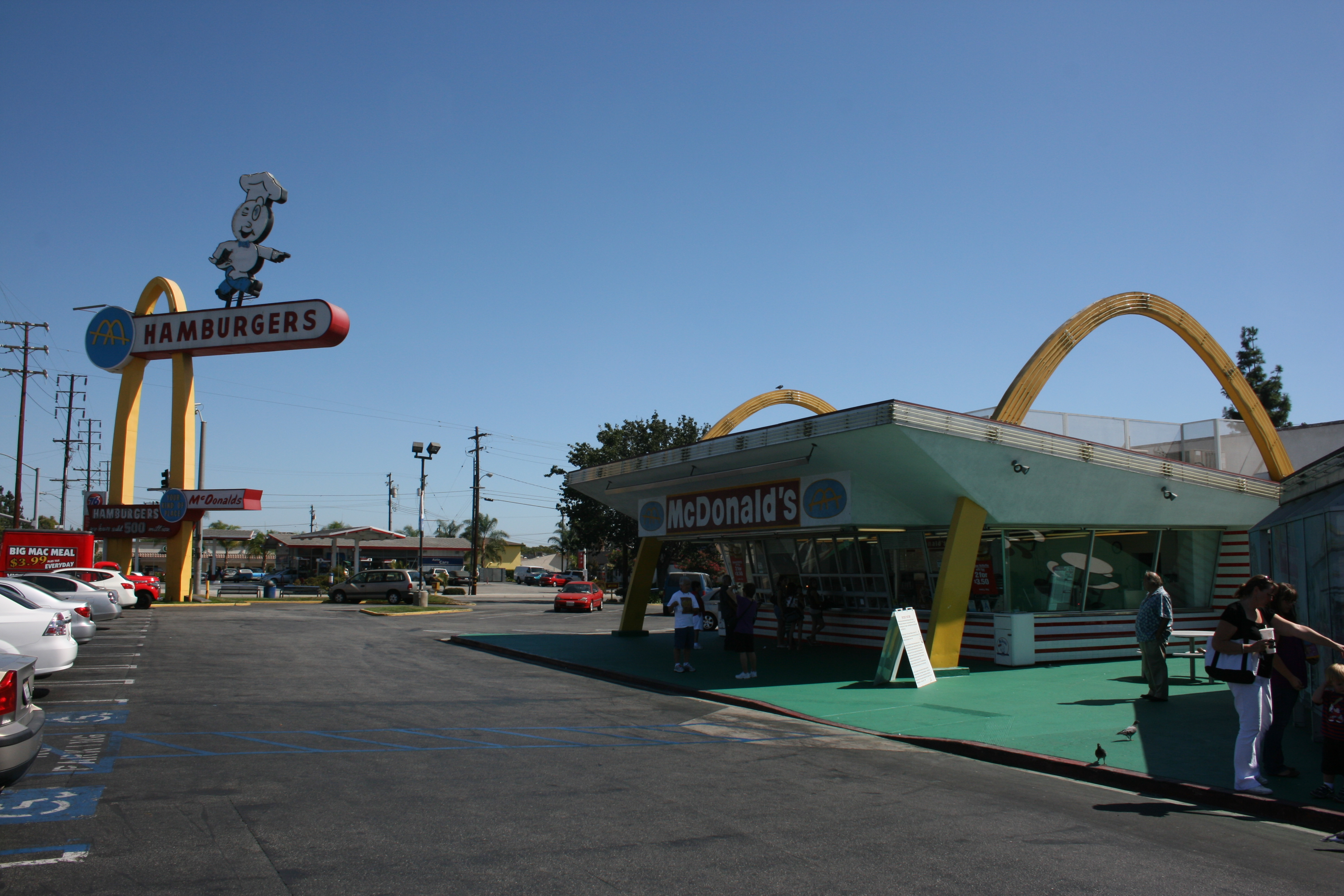 The original McDonalds, Downey
