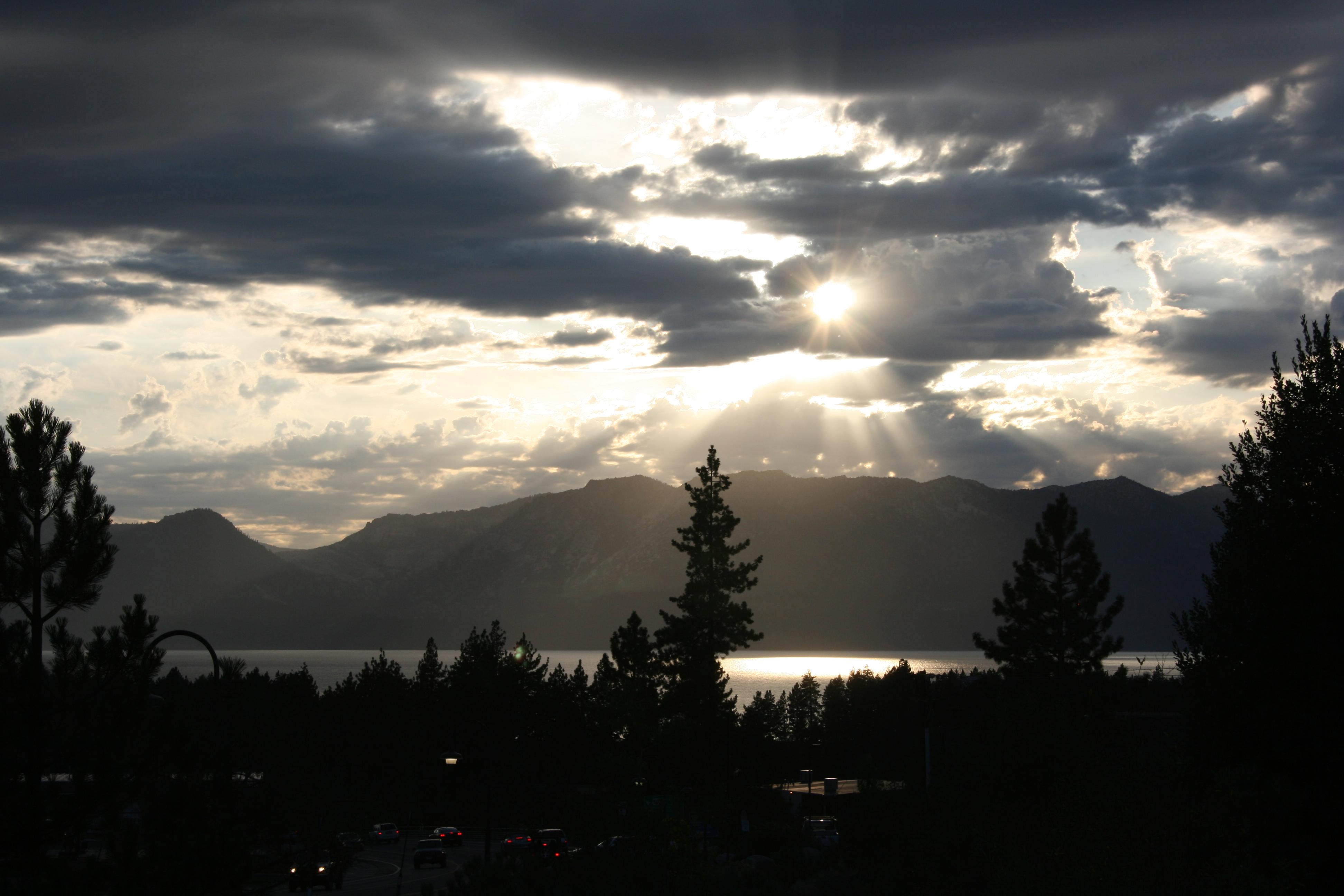 Lake Tahoe from Kingsbury Grade