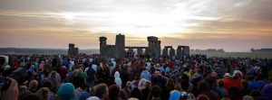Summer solstice celebrations at Stonehenge