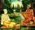Tulsidas's encounter with Lord Rama