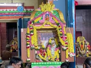 Kameswari-Kameshwara Thirukkalyanam after Kumbhabhishegam @ GF' Adhistanam.